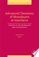 Advanced Chemistry Of Monolayers At Interfaces book