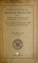 United States Naval Medical Bulletin