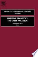 illustration Maritime Transport, The Greek Paradigm