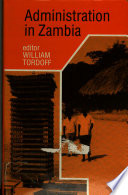 Ebook Administration in Zambia Epub William Tordoff Apps Read Mobile