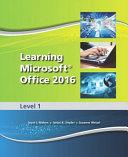 Learning Microsoft Office 2016 Level 1    National    Cte School