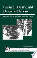 Carnap  Tarski  and Quine at Harvard