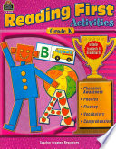 Reading First Activities  Grade K