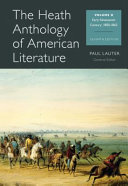 The Heath Anthology of American Literature Heath Anthology Of American Literature Volume