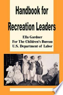 Handbook for Recreation Leaders