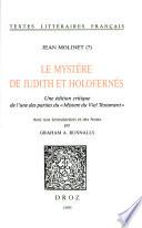 Le Mystère de Judith et Holofernés