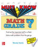 Must Know Math Grade 7