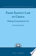 Food Safety Law in China
