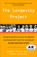 The Longevity Project The Longevity Project This Landmark Study Which