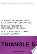 Les nouvelles technologies et l'enseignement des langues