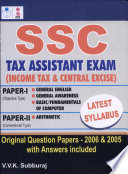 SSC Tax Assistant Exam