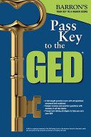 Barron s Pass Key to the GED Test