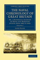 Book The Naval Chronology of Great Britain