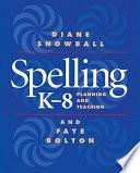 Spelling K 8