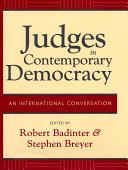 download ebook judges in contemporary democracy pdf epub