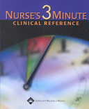 Nurse s Three minute Clinical Reference