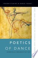 Poetics of Dance