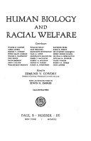 Human biology and racial welfare