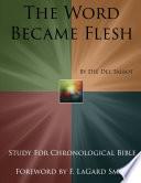 The Word Made Flesh 2 0  Distribution