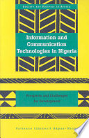 Information And Communication Technologies In Nigeria book