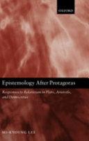 Epistemology After Protagoras