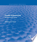 Facility Programming  Routledge Revivals