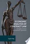 Economic Analysis of Contract Law