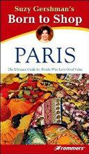 Suzy Gershman s Born to Shop Paris