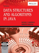 DATA STRUCTURES AND ALGORITHMS IN JAVA  3RD ED