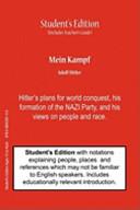Mein Kampf  Student s   Teacher s Classroom Edition
