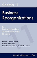 Chapter 11 Business Reorganizations