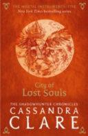 download ebook the mortal instruments 05. city of lost souls pdf epub