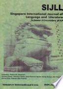 SIJLL (Singapore International Journal of Language and Literature)
