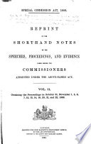 Special Commission Act  1888 Book PDF