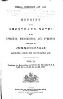 Book Special Commission Act, 1888