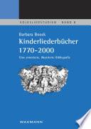 Kinderliederb  cher 1770 2000
