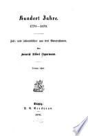 Hundert Jahre, 1770-1870