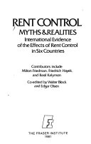 Rent control  myths   realities