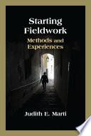 Starting Fieldwork