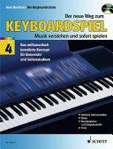 Der Neue Weg Zum Keyboardspiel Vol  4   Book CD