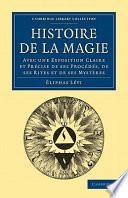 illustration du livre Histoire de la Magie