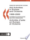 Aid Activities in Europe and Oceania 2001