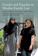 Gender and Equality in Muslim Family Law