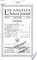 Los Angeles School Journal Book PDF