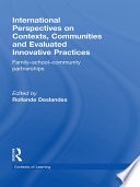 International Perspectives on Contexts  Communities and Evaluated Innovative Practices