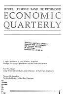 Economic Quarterly