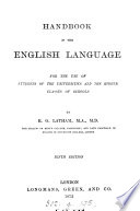 A hand book of the English language Book PDF