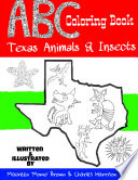 Abc Coloring Book Texas Animals Insects