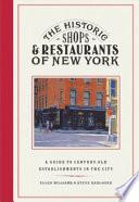 The Historic Shops   Restaurants of New York
