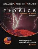 Fundamentals of Physics    Probeware Lab Manual Student Version